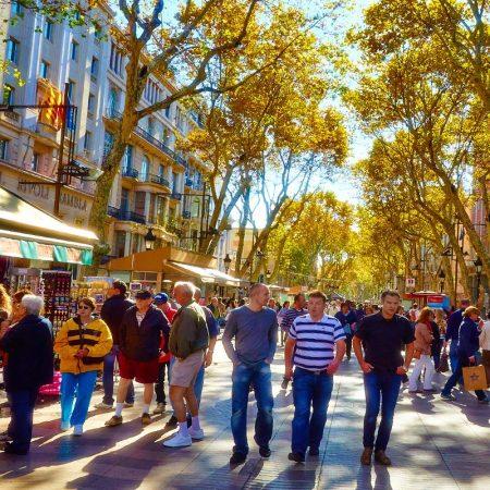 Wandeltour Barcelona